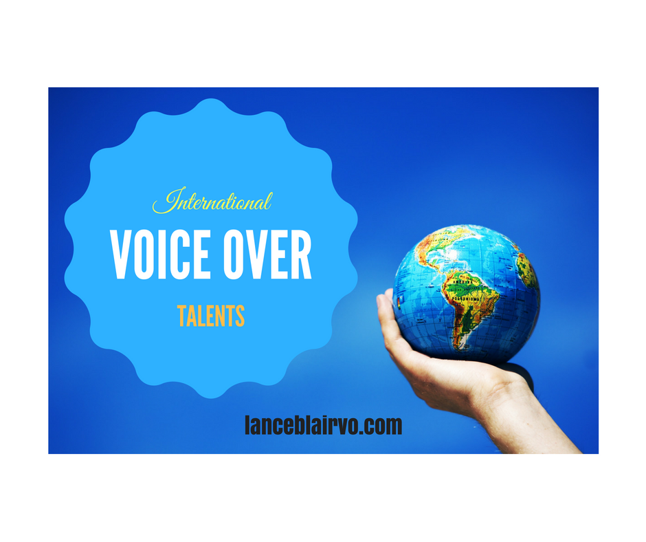 International Voice Over Talents