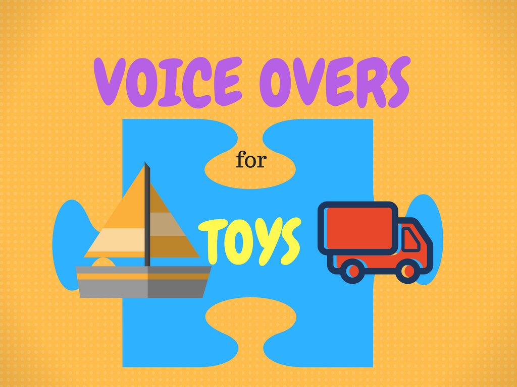 Toy Commercial Voice Overs