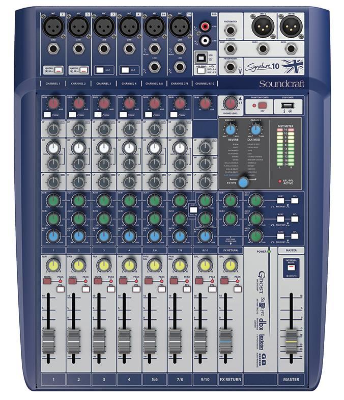 How Do You Playback Audio to Voice Over Clients? Soundcraft Signature 10 Mixer