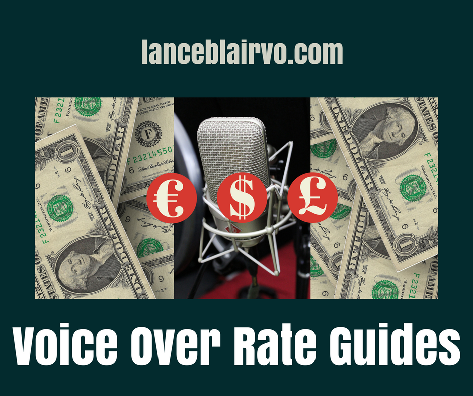 Voice Over Rate Guides