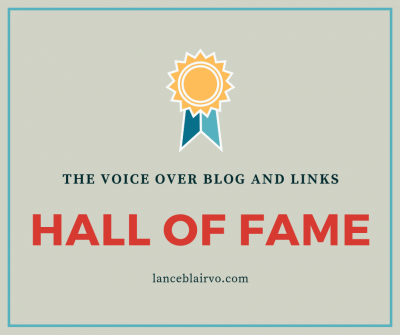 Voice Over Blog and Links Hall of Fame